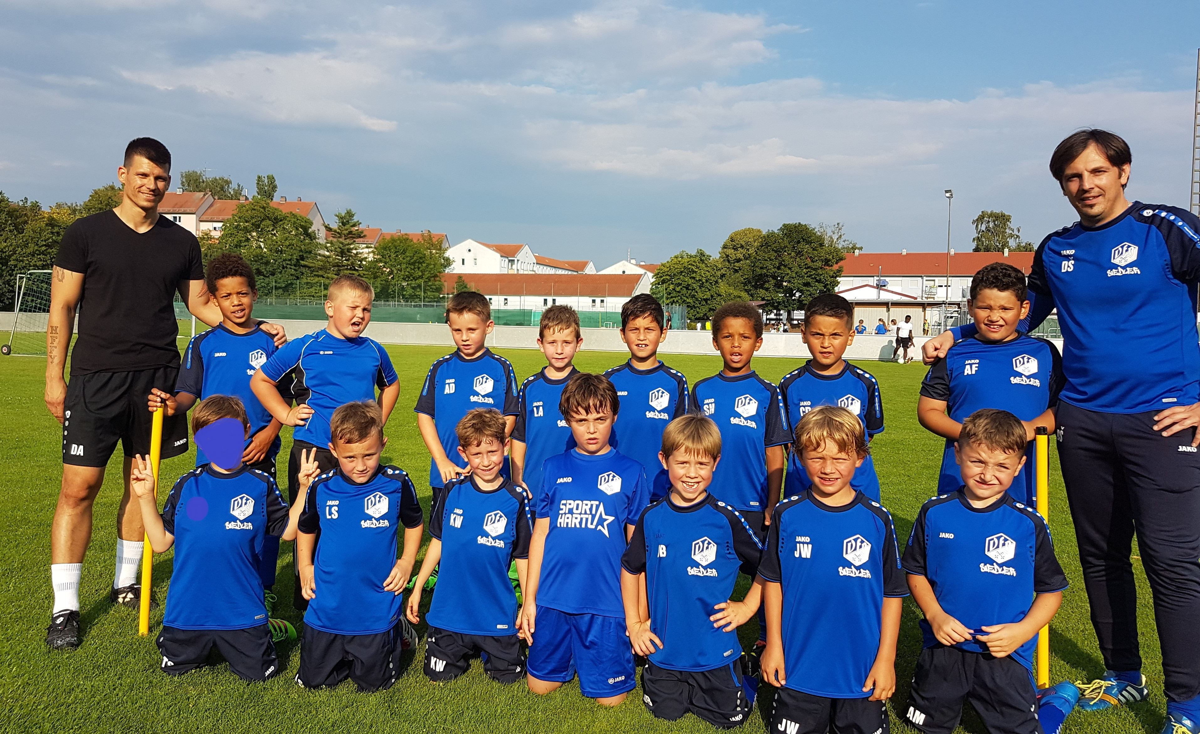 fjugend teamfoto